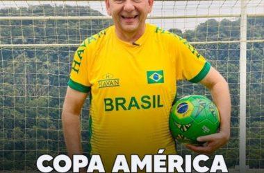 Havan anuncia patrocínio em transmissão da Copa América