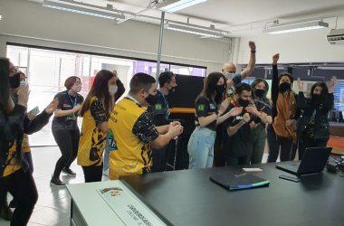 Equipes se reuniram para acompanhar a competição em Criciúma